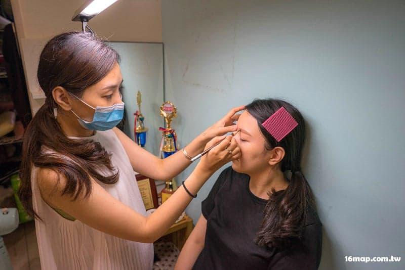 Dance makeup eyelashes-6
